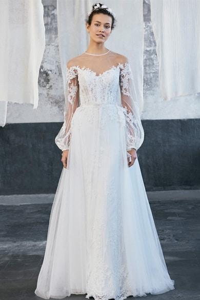 tren gaun pengantin 2020
