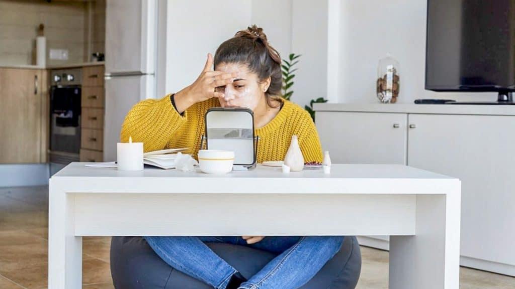 jerawat akibat stres