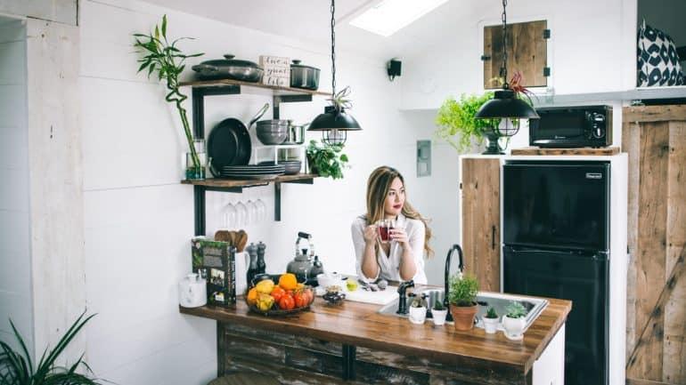 mendekorasi dapur kecil