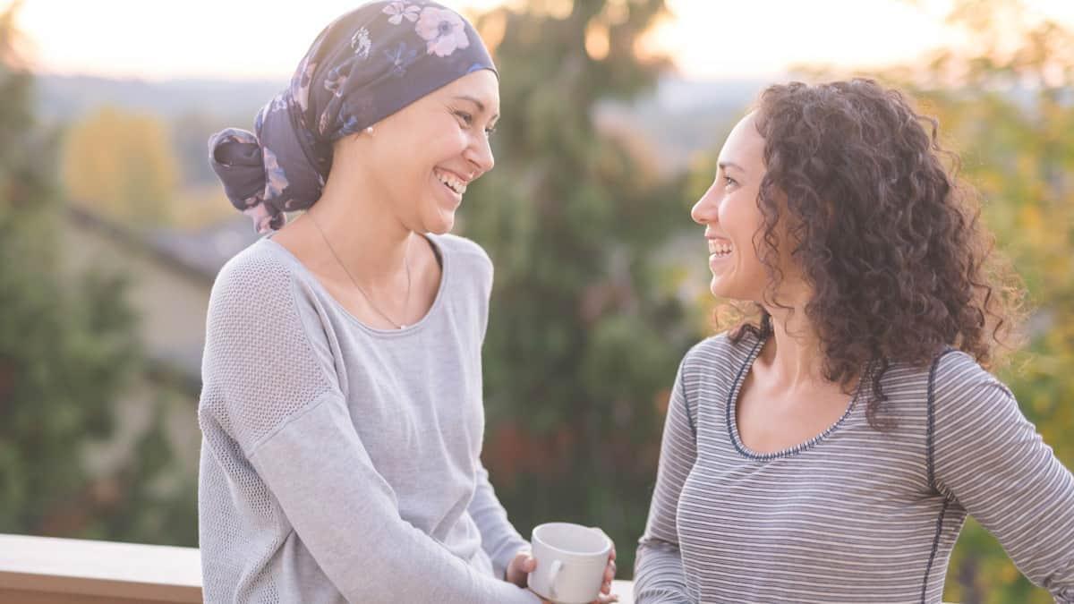 cara mendukung teman yang menderita kanker