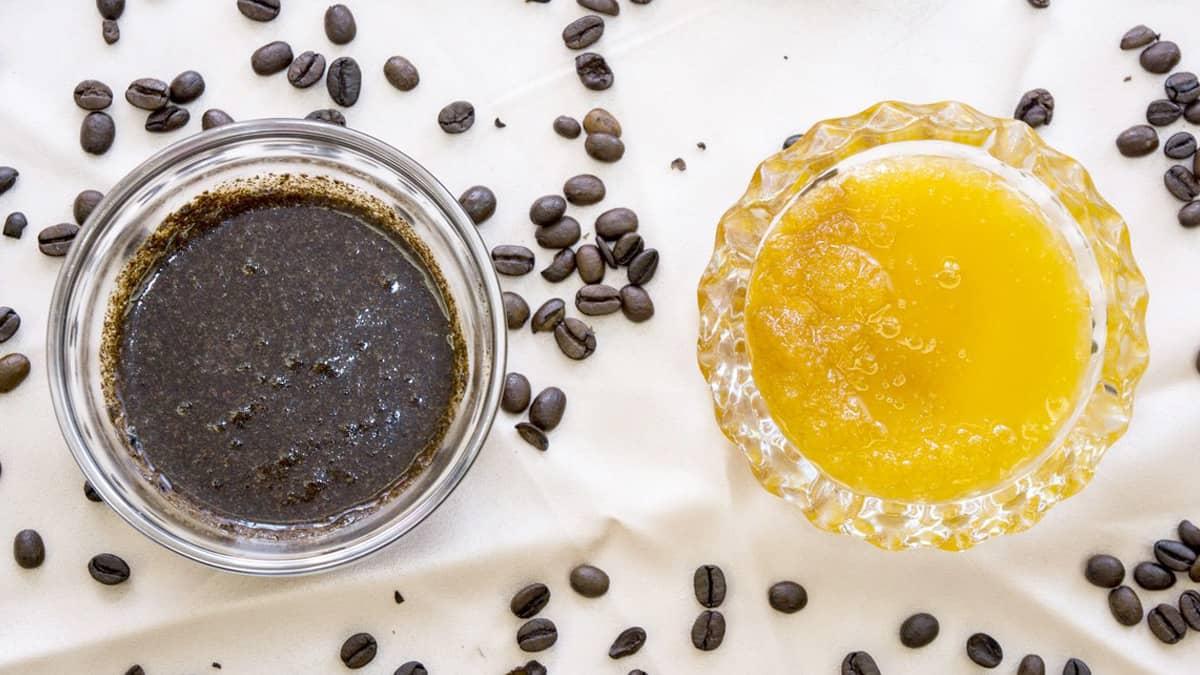manfaat masker kopi