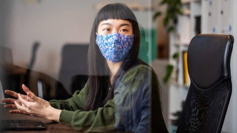 masker pelindung wajah efektif