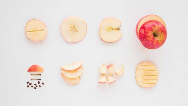 apel ukuran medium