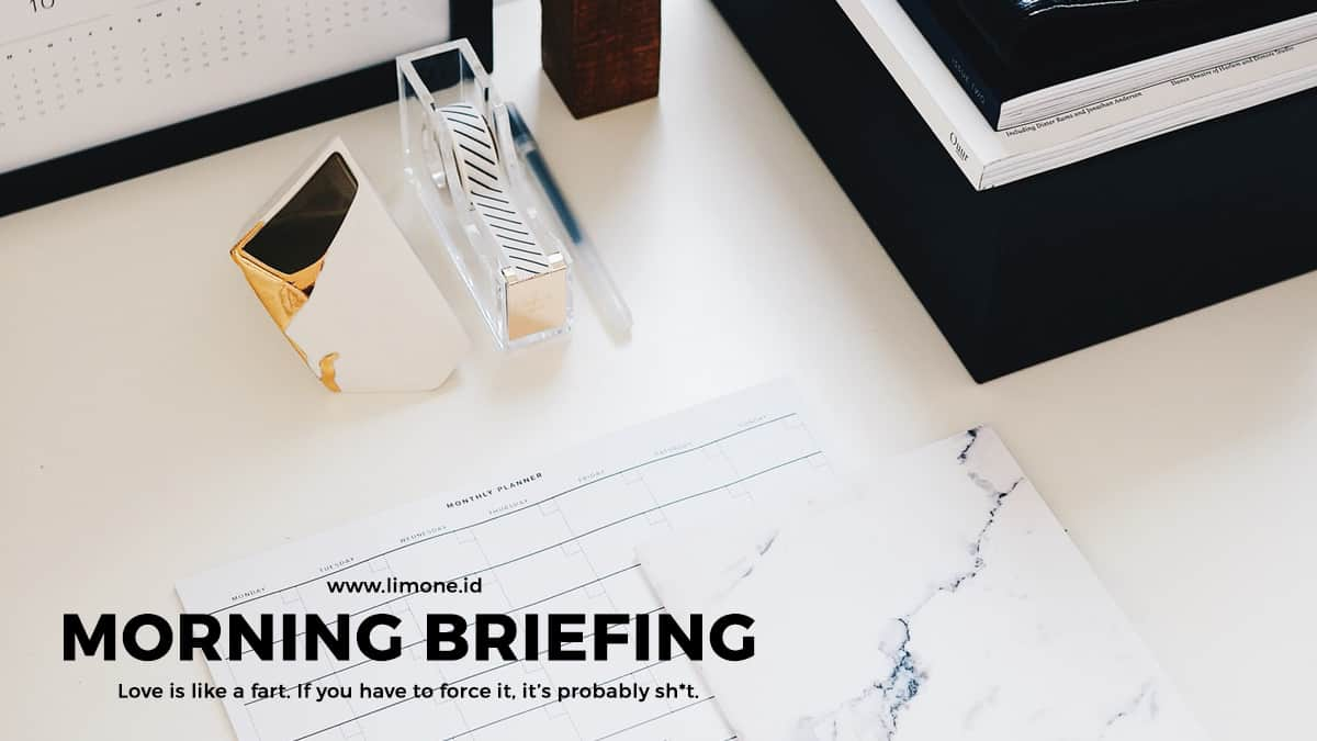 Morning Briefing 23 Oktober 2020