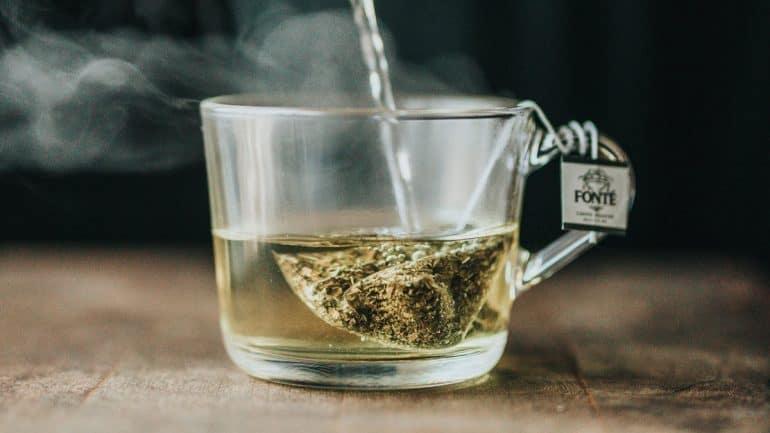 minum teh hijau
