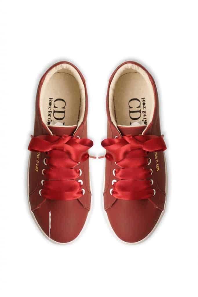 paduan warna merah