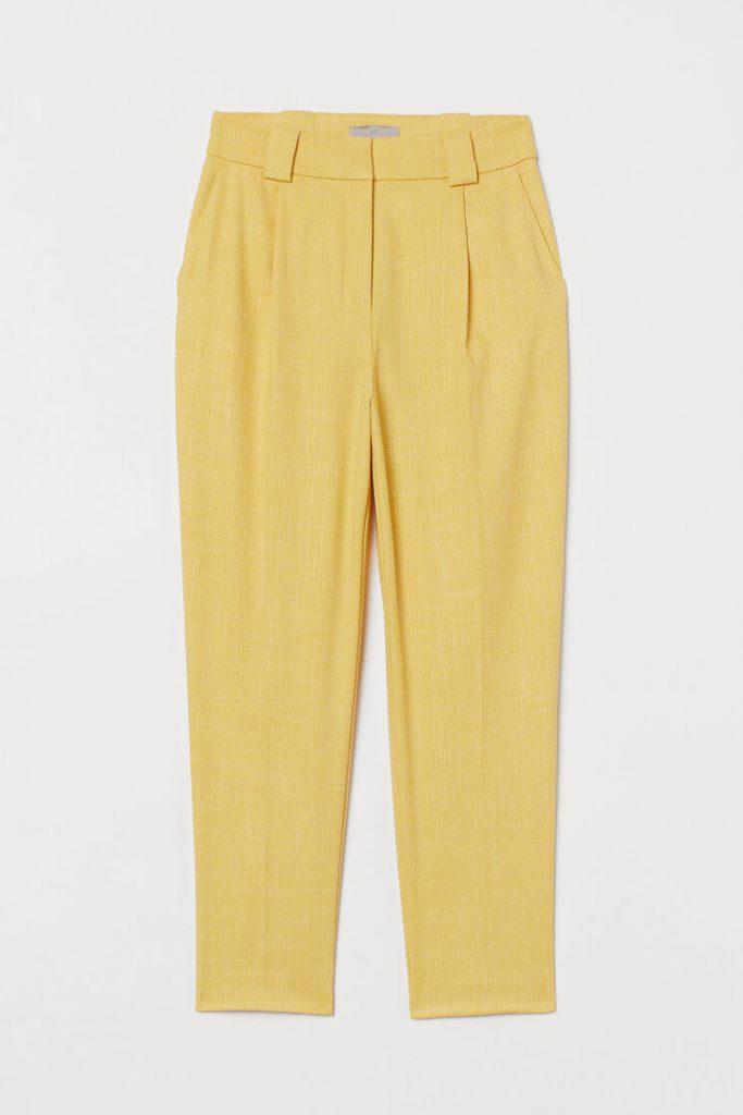 paduan warna kuning lemon