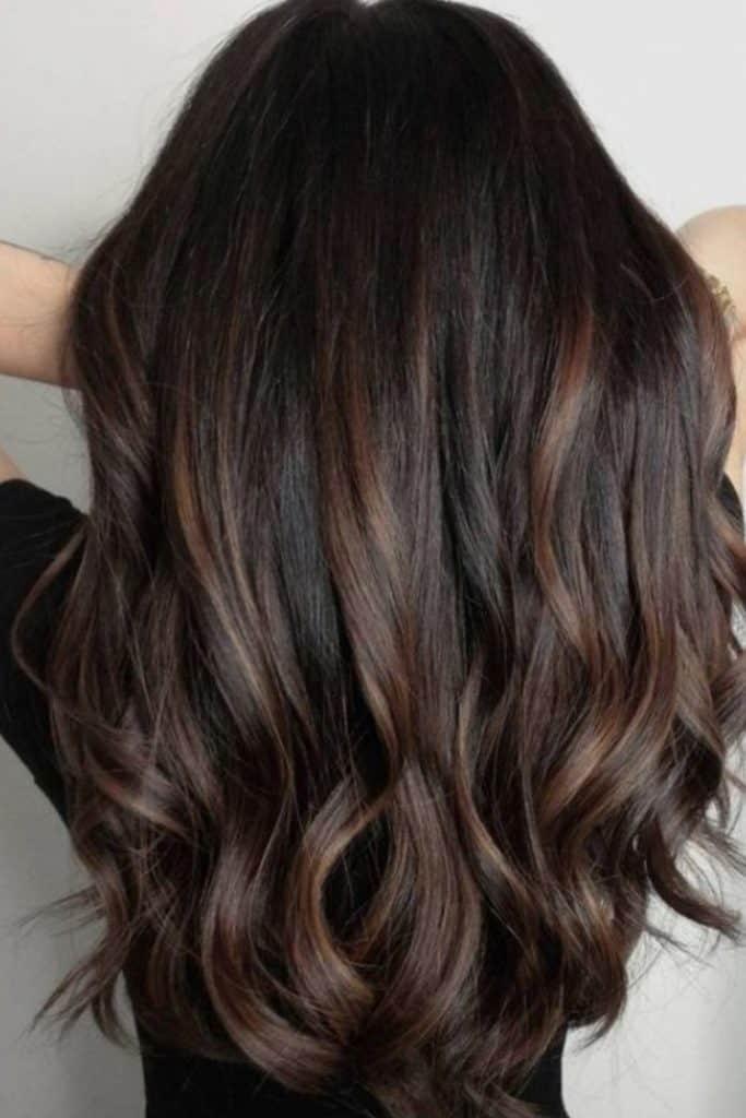 highlights rambut