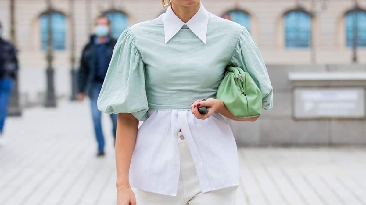 paduan warna hijau mint