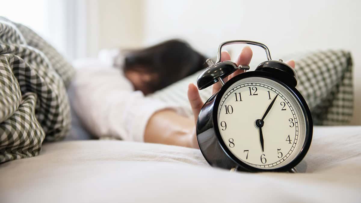 pola tidur