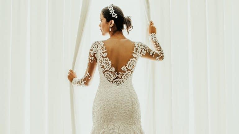 gaun pengantin modern 2021