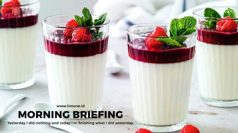 Morning Briefing 17 Mei 2021
